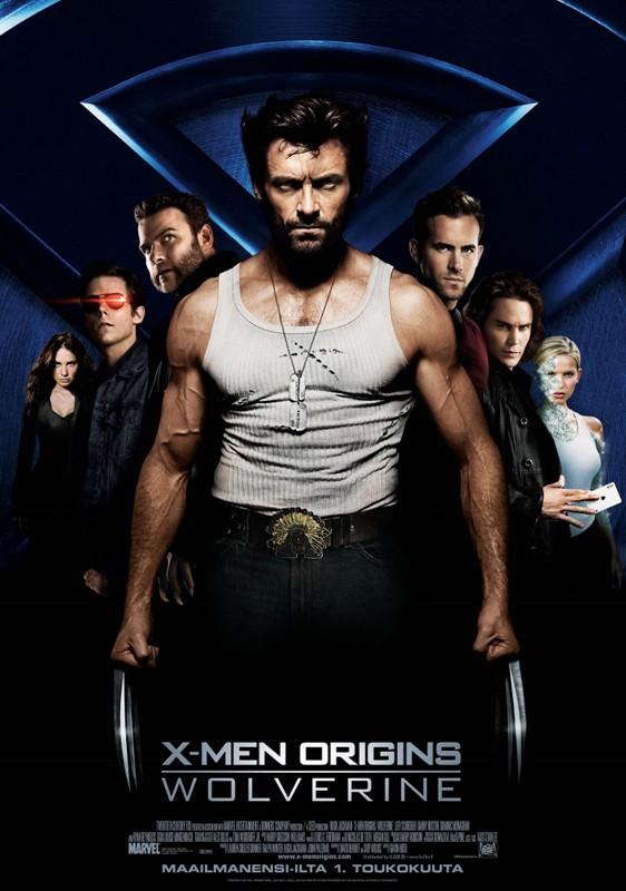 Seconda locandina italiana di X-Men - Le origini: Wolverine