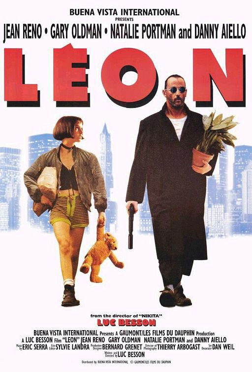 Un secondo poster americano del film Leon