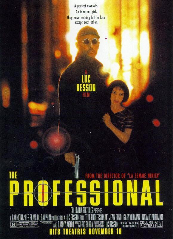 Un terzo poster americano del film Leon