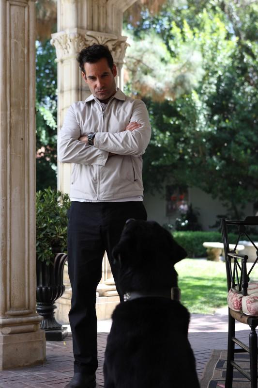 Adrian Pasdar in una scena da Acceptance tratta dalla quarta stagione di Heroes