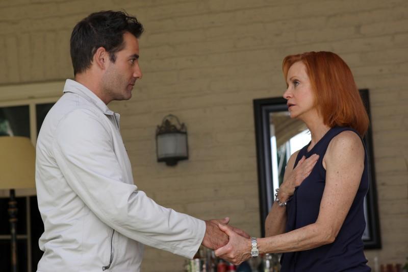 Adrian Pasdar in una scena di Acceptance tratta dalla quarta stagione di Heroes