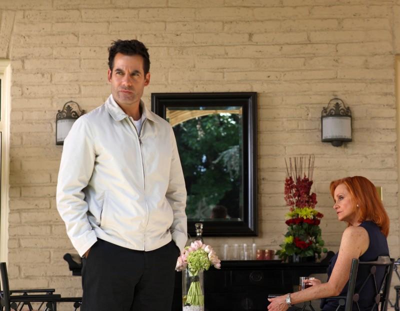 Adrian Pasdar in una scena tratta da Acceptance dalla quarta stagione di Heroes