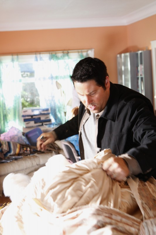 Greg Grunberg in una scena da Ink dalla quarta stagione di Heroes