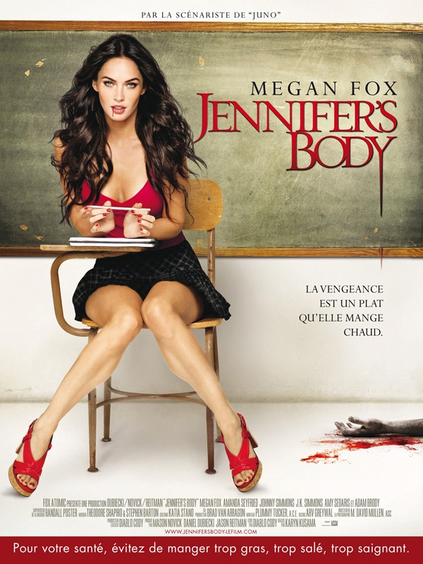 Locandina francese per il film Jennifer's Body