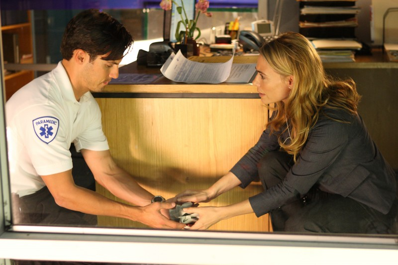 Milo Ventimiglia in una scena di Ink dalla quarta stagione di Heroes