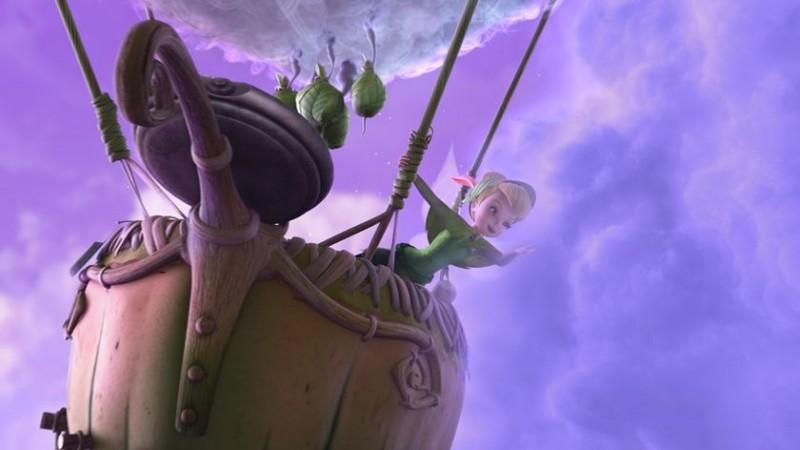Un'immagine tratta dal film d'animazione Trilli e il tesoro perduto