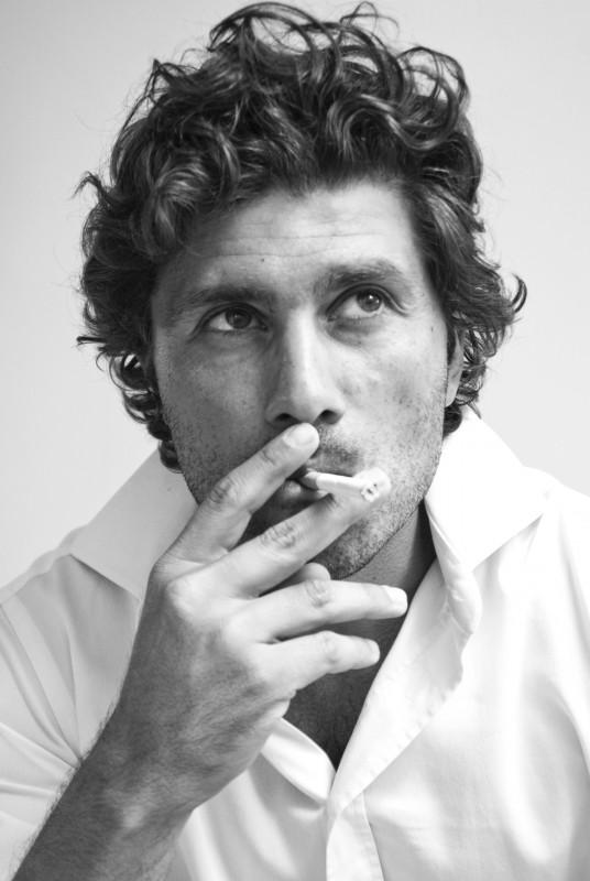 Giuseppe Morrone in posa (foto: Lea Zalco)