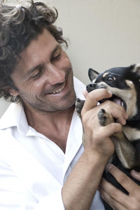Giuseppe Morrone - l'attore è nato il 7 ottobre 1977, a Cosenza (foto di Lea Zalco)