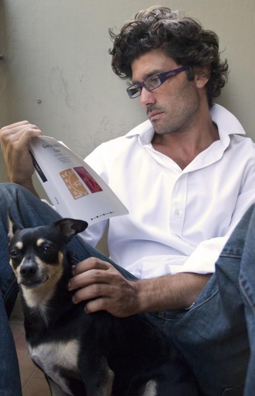 Giuseppe Morrone - l'attore è nato il 7 ottobre 1977, sotto il segno della Bilancia. (foto di Lea Zalco)