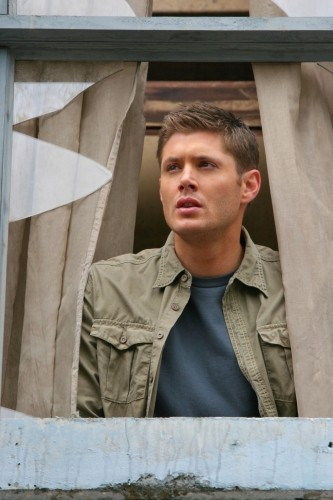 Jensen Ackles in un momento dell'episodio The End di Supernatural