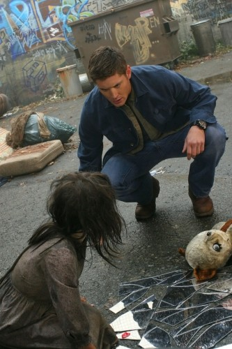 Jensen Ackles in una immagine dell'episodio The End di Supernatural