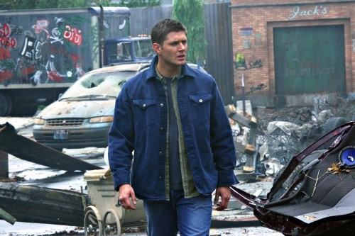 Jensen Ackles nell'episodio The End di Supernatural