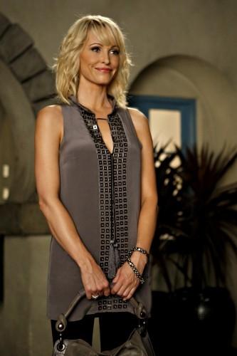 Josie Bissett è Jane Andrews in una scena dell'episodio Vine di Melrose Place