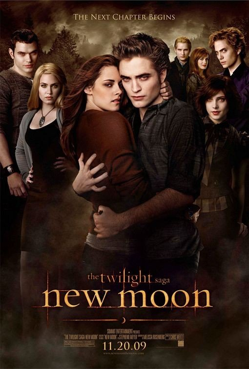 Nuovo poster USA per Twilight: New Moon (1)