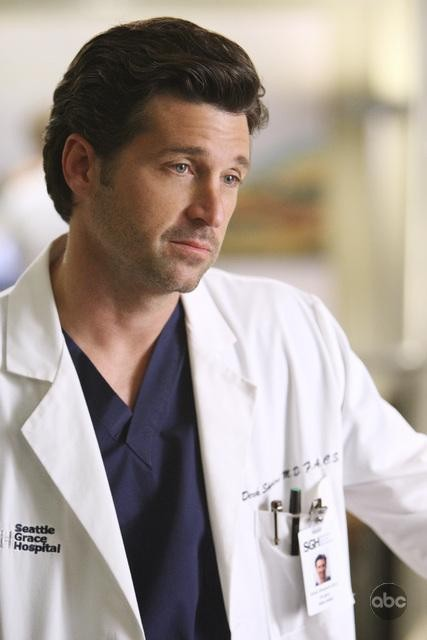 Patrick Dempsey nell'episodio I Always Feel Like Somebody's Watchin' Me di Grey's Anatomy