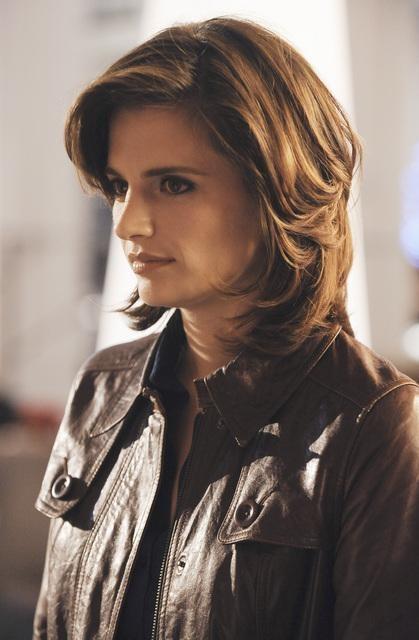 Stana Katic in una scena dell'episodio Inventing the Girl di Castle