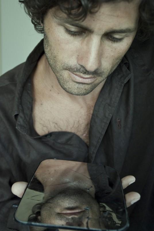 Foto di Lea Zalco - Una bella immagine di Giuseppe Morrone sul set