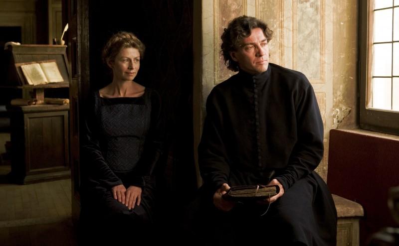 Amanda Sandrelli con Alessio Boni in una sequenza del film Christine Cristina, di Stefania Sandrelli