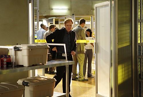 David Caruso in un momento dell'episodio Hostile Takeover di CSI Miami