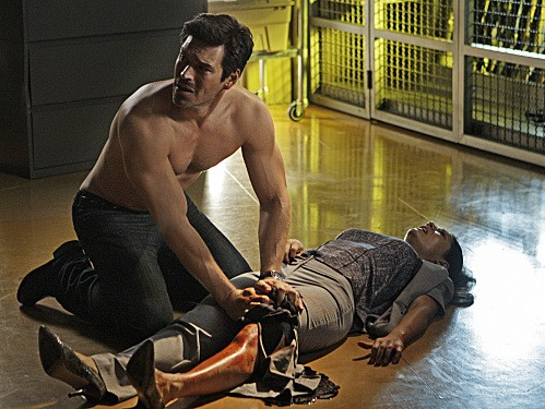 Eddie Cibrian nell'episodio Hostile Takeover di CSI Miami