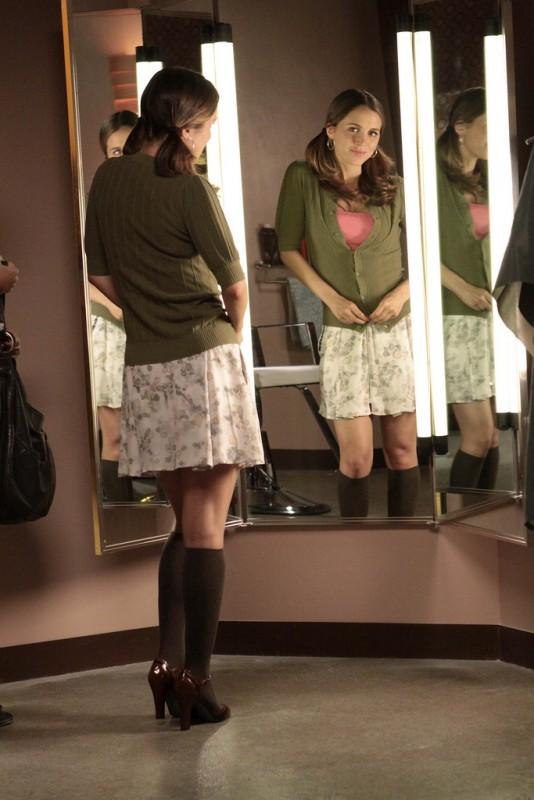 Eliza Dushku in una scena dell'episodio Belle Chose di Dollhouse