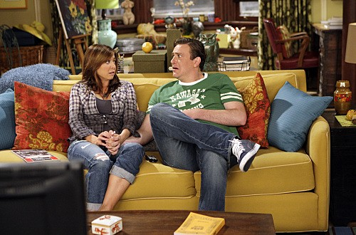 Jason Segel ed Alyson Hannigan nell'episodio Double Date di How I Met Your Mother