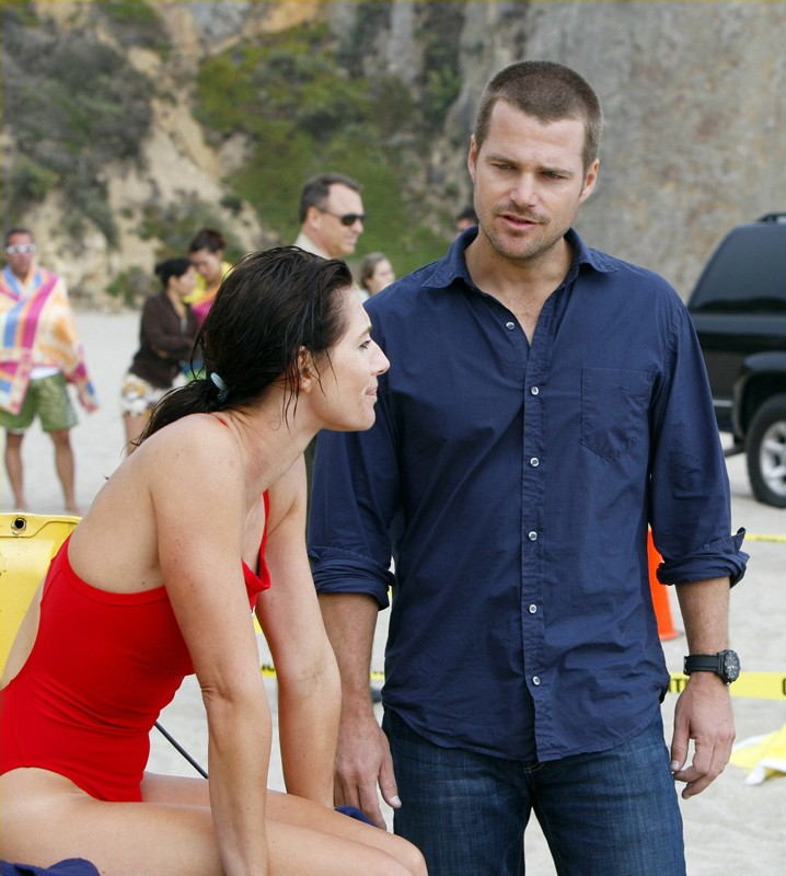 L'agente 'G' (Chris O'Donnell) in una scena dell'episodio The Only Easy Day di NCIS: Los Angeles