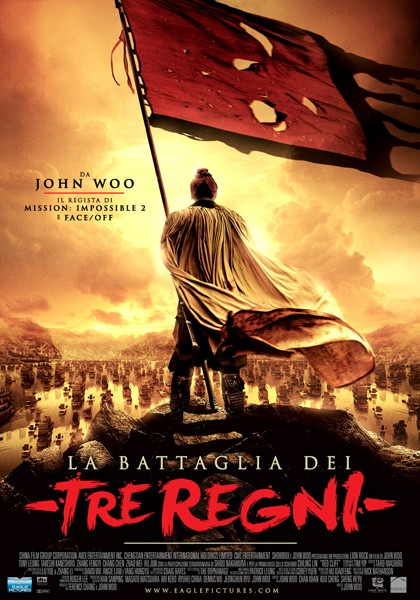 La locandina italiana de La battaglia dei tre regni