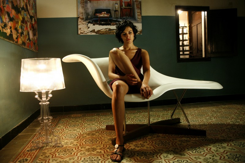 La sensuale Blanca Romero in una sequenza di After (2009)