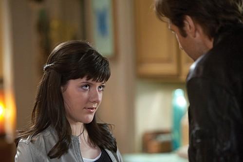 Madeleine Martin in una scena dell'episodio The Land of Rape and Honey di Californication