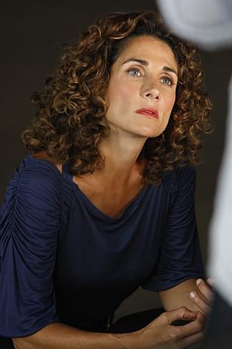 Melina Kanakaredes in una scena dell'episodio LAT 40° 47' N/Long 73° 58'W della serie CSI New York