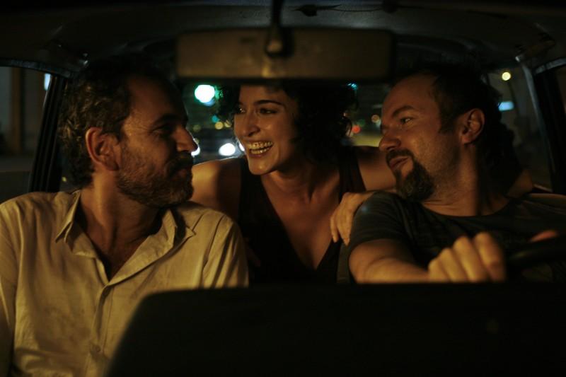 Tristan Ulloa, Blanca Romero e Guillermo Toledo in una scena di After (2009)