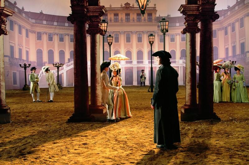 Un'immagine del film Io, Don Giovanni di Carlos Saura