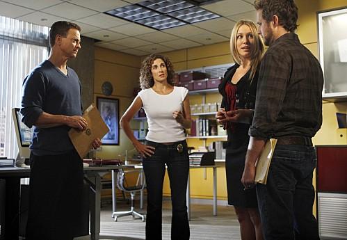 Un momento dell'episodio Epilogue di CSI New York