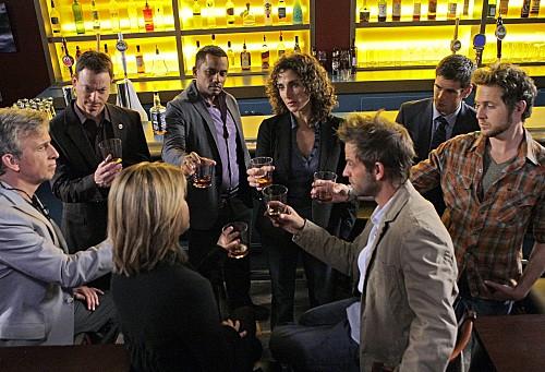 Una scena dell'episodio Epilogue di CSI New York