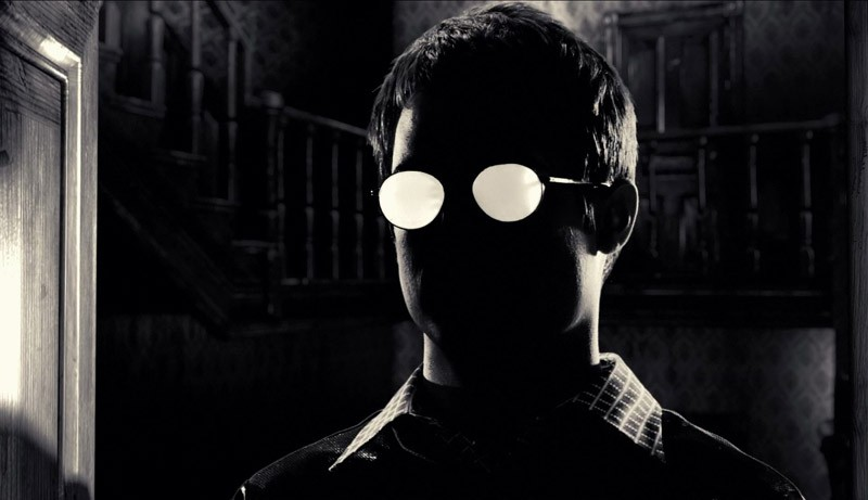 Elijah Wood è Kevin in una scena di Sin City