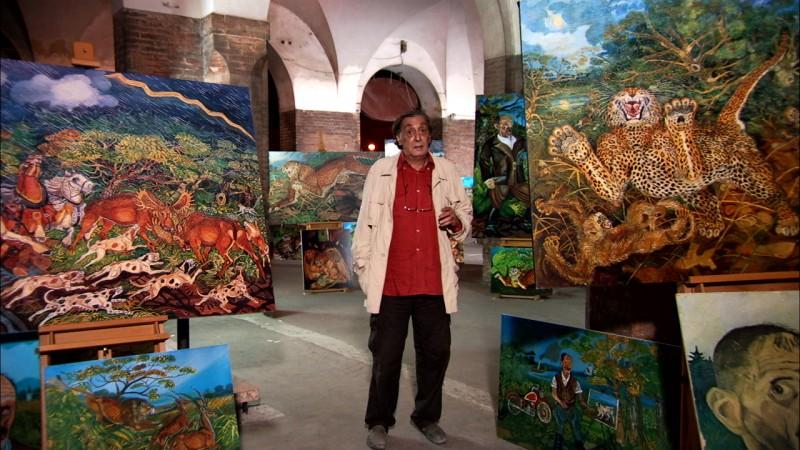 Flavio Bucci nel documentario Antonio Ligabue: fiction e realtà