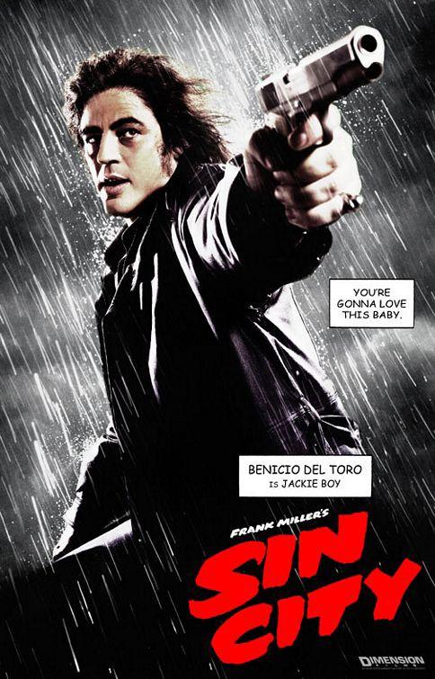 Il character poster di Jack Rafferty nel film Sin City