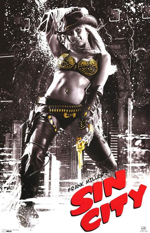 Il character poster di Nancy Callahan nel film Sin City