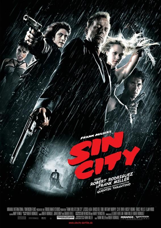 Il poster del film Sin City
