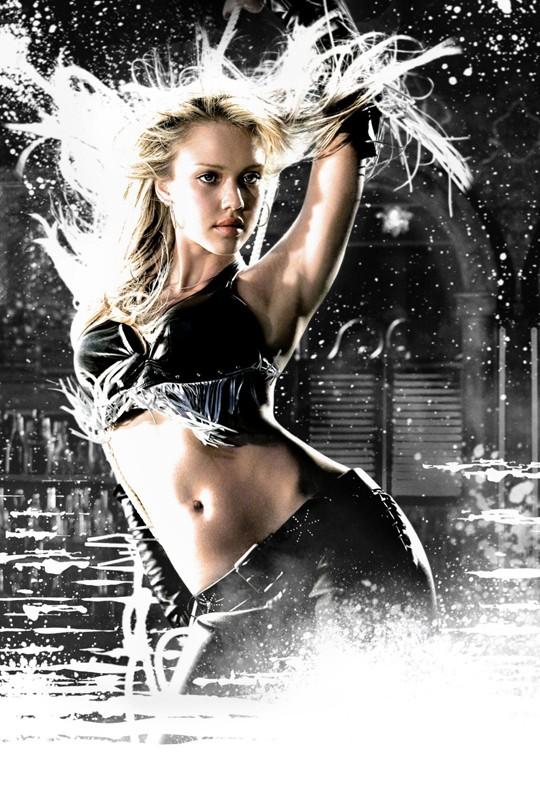 Jessica Alba interpreta Nancy Callahan nel film Sin City