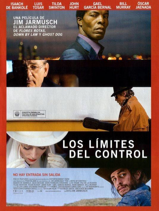 Nuovo poster spagnolo per il film The Limits of Control