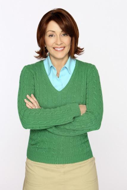 Patricia Heaton in una foto promozionale della serie The Middle