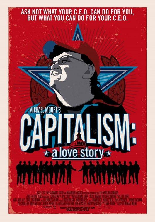 Poster svizzero per Capitalism: A Love Story