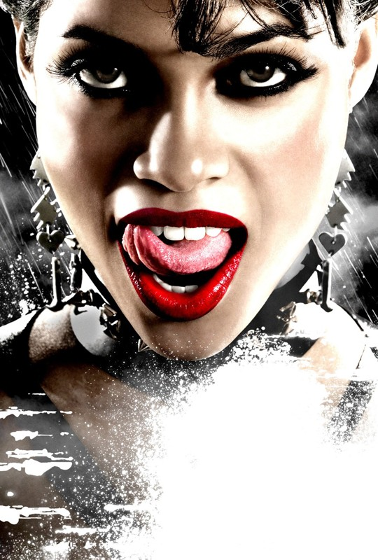 Rosario Dawson interpreta Gail nel film Sin City