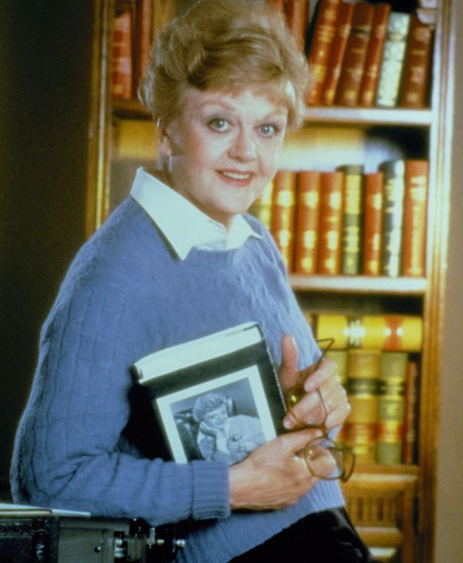 Un'immagine promo di Angela Lansbury (Jessica Fletcher) per la serie tv La signora in giallo