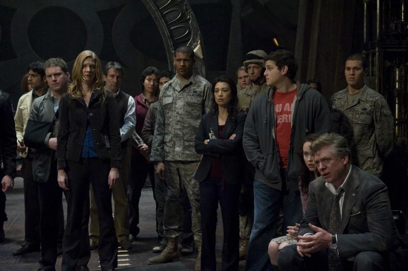 Una scena della premiere di Stargate Universe