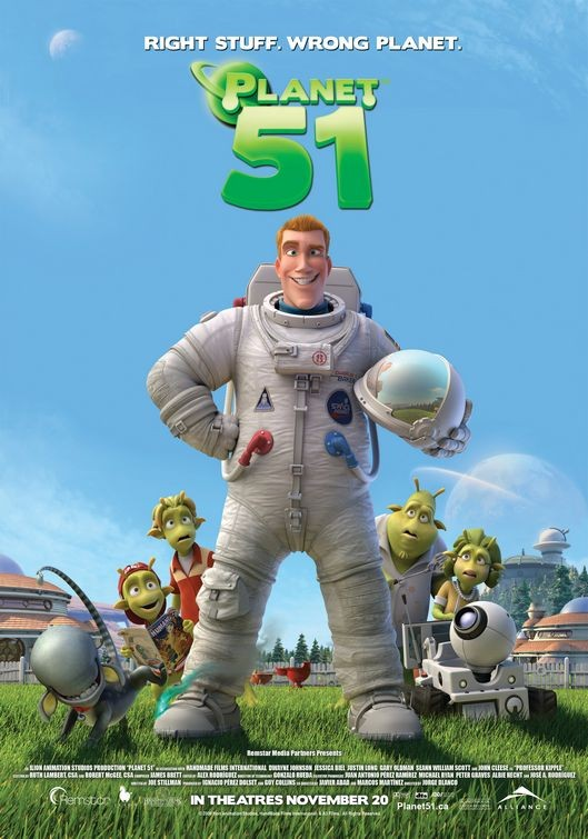 Ancora un nuovo poster USA per Planet 51
