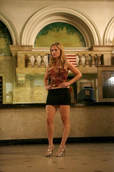 Erika Christensen in una scena dell'episodio The Core of It di Lie to Me