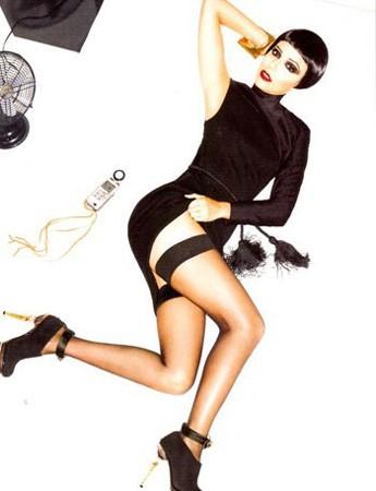 Eva Longoria Parker in versione fetish sul magazine Citizen K
